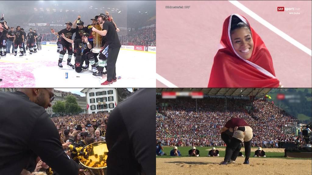 """Rückblick auf ein """"Bernerstarkes"""" Sportjahr"""