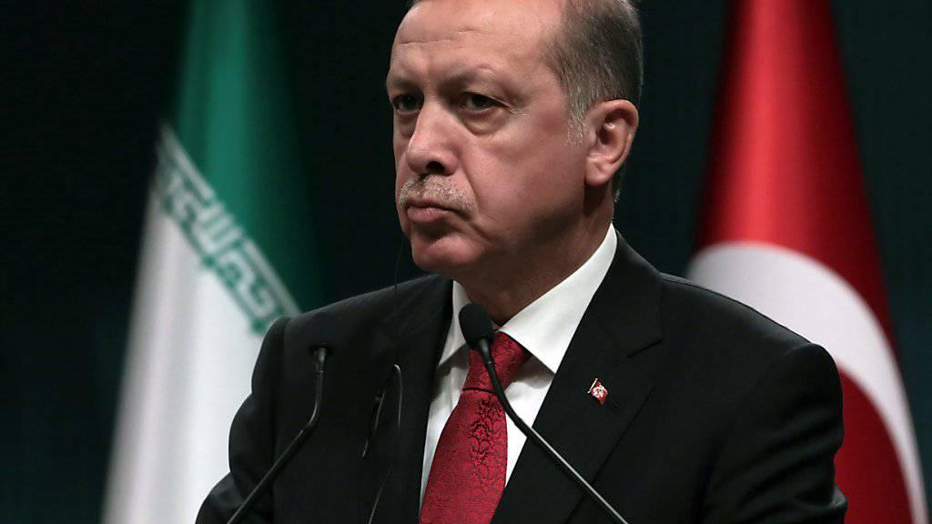 Türken in den Niederlanden wurden von ihrem Konsulat dazu aufgefordert, Beleidigungen an die Adresse des türkischen Präsidenten Recep Tayyip Erdogan zu melden. Alles nur ein Missverständnis, hiess es später.