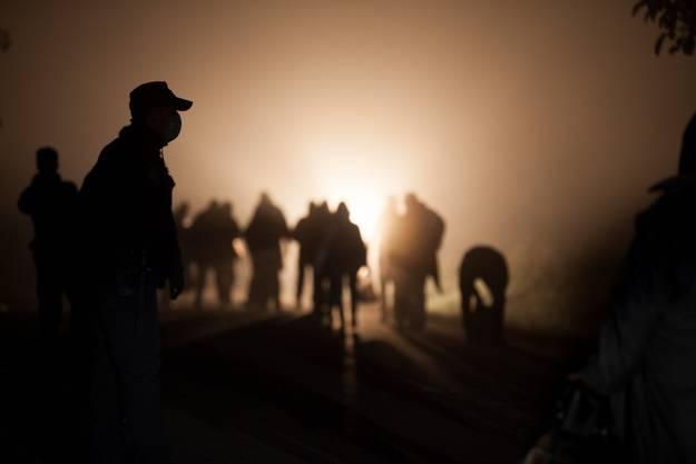 Rastplatz-Fotograf Joel Sames: «In der Nacht war die Hölle los.»