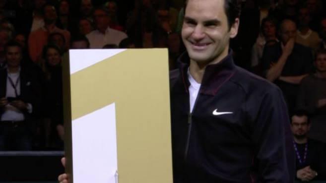 Roger Federer wird zur ältesten Nummer 1