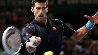 40. ATP-Turniersieg für Novak Djokovic.