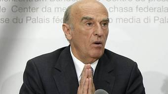 Bundespräsident Hans-Rudolf Merz (Archiv)