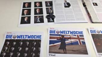 Cover der Wochenzeitung Weltwoche (Archivbild).