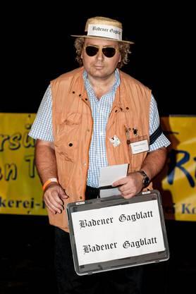 Das Badener Tagblatt war unter den Gewinnern bei der Kategorie Einzelmaske