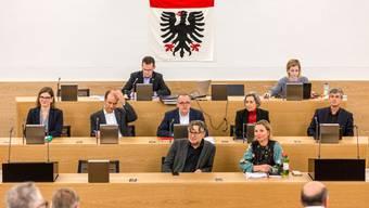 Das Instrument der Schuldenbremse spaltete die Parteien im Aarauer Einwohnerrat. (Archiv)