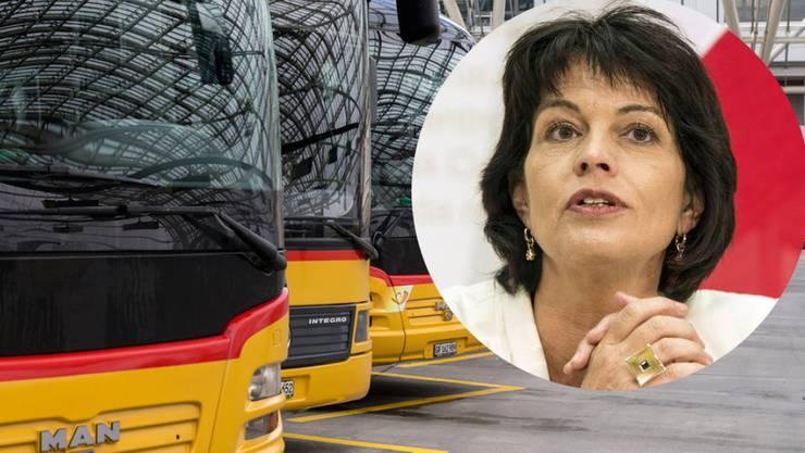 Das Bundesamt für Verkehr, dem Bundesrätin Doris Leuthard vorsteht, muss nun selber eine Strafuntersuchung durchführen.