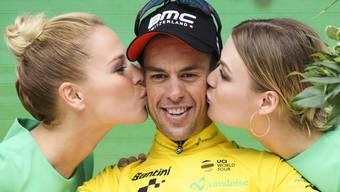 Der Australier Richie Porte (im Bild) löste Stefan Küng als Leader der Tour de Suisse ab.