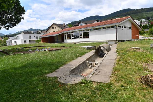 Ab mitte Juli wird der Pavillon abgerissen.