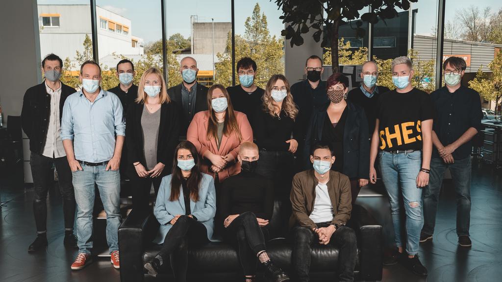 Gruppenbild ArgoviaToday Maske