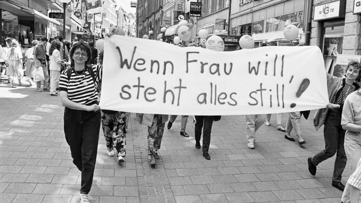 «Ein Streik wie 1991? Erst war ich ungläubig. Nun bin ich froh, denn trotz rechtlicher Gleichstellung hapert es an vielen Orten.»