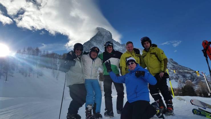 Pontoniere Skiweekend Zermatt