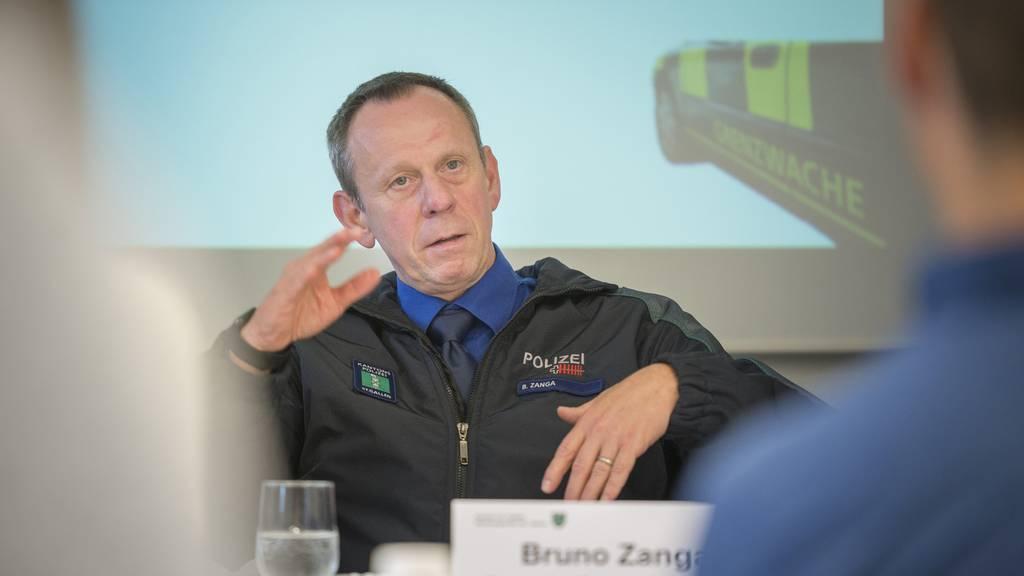 Die Gewalt gegen Polizisten hat laut Bruno Zanga zugenommen. (Archiv)