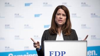 FDP-Präsidentin Petra Gössi: «Der Reformdruck bleibt auch mit der Zusatzfinanzierung hoch.»