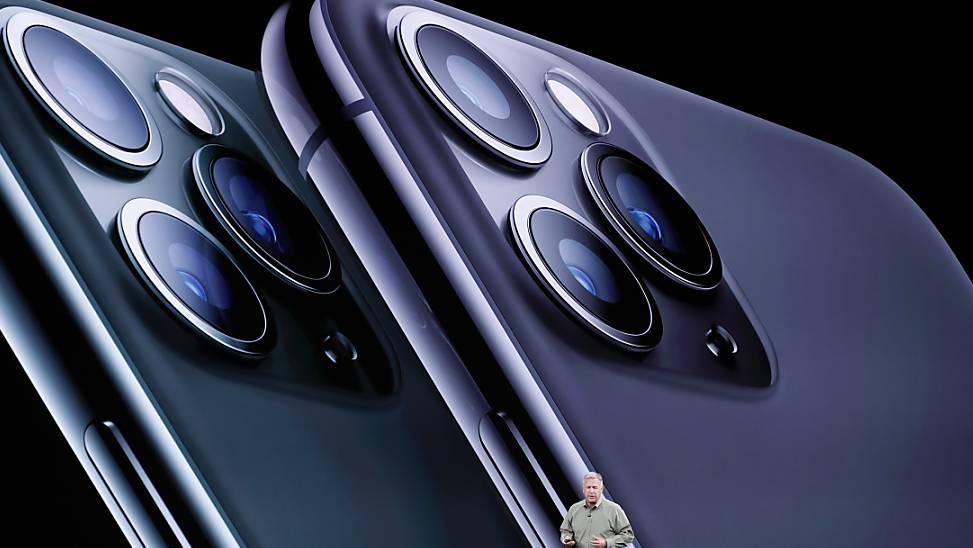 Die neue iPhone-Generation von Apple soll bessere Kameras haben.