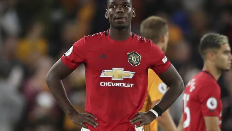 Der Transferwert von Paul Pogba ist beträchtlich gesunken