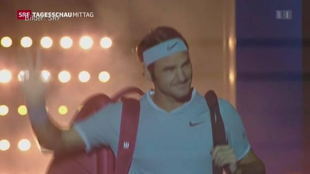 Federer ist zurück