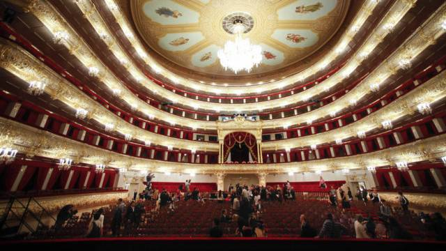 Blick ins  Bolschoi-Theater (Archiv)