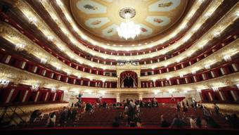 Blick ins  Bolschoi-Theater (Archiv)