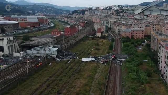 Drama in Genua: Nun rückt die Frage nach der Ursache in den Fokus