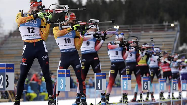 Bald soll in der Schweiz um WM-Medaillen geschossen werden