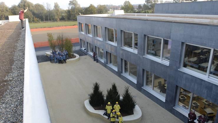 Im Schulhaus der Oberstufe in Subingen fand das Behördenseminar statt. (Archivbild)