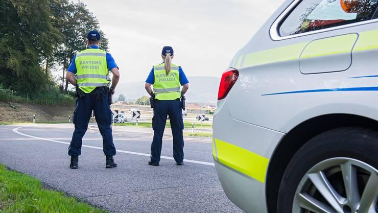 In Küttigen führte die Kantonspolizei Aargau am Freitag Geschwindigkeitskontrollen durch.