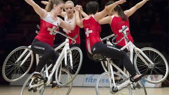 Impressionen von den Hallenradsport-WM in Basel