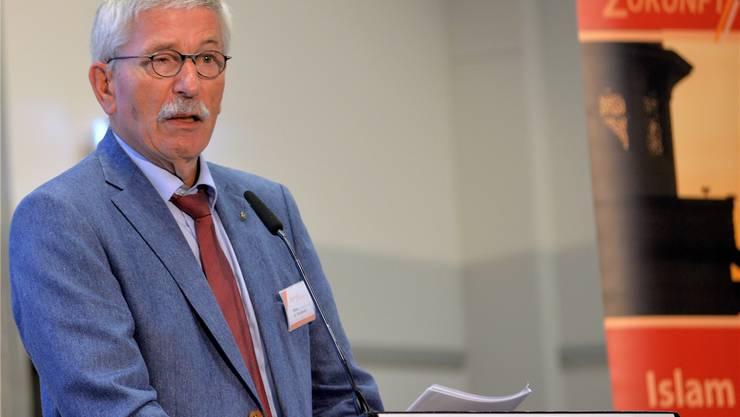 Mit Thilo Sarrazin war ein umstrittener SPD-Politiker aus Deutschland in Olten zu Besuch.