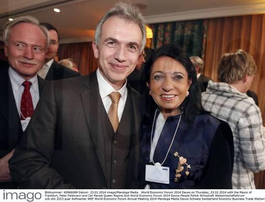 Frankfurt meets Davos im Hotel Steigenberger