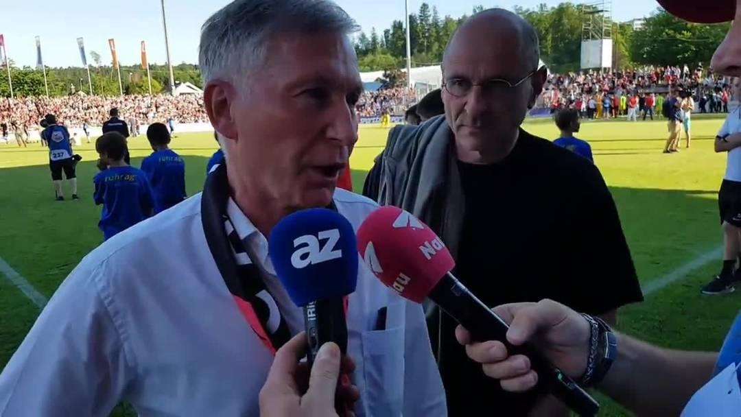 «Am Schluss war es eine Glückssache»: Das sagt FCA-Präsident Alfred Schmid zum verpassten Aufstieg