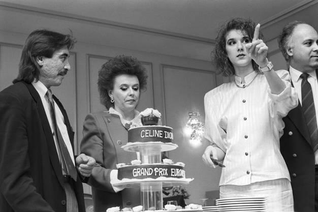 Ihr wohl grösster Triumpf: Gemeinsam mit Celine Dior gewinnt Nella Martinetti 1988 den Grand Prix Eurovision de la chanson.