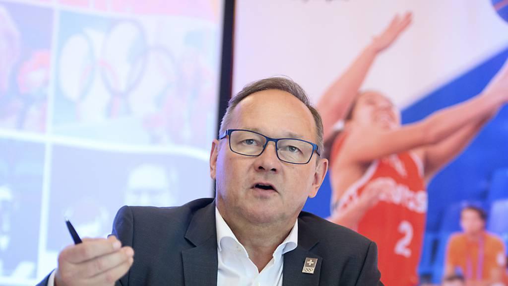 Jürg Stahl, Präsident von Swiss Olympic, sieht das ethisch korrekte Verhalten im Schweizer Sport als Grundhaltung