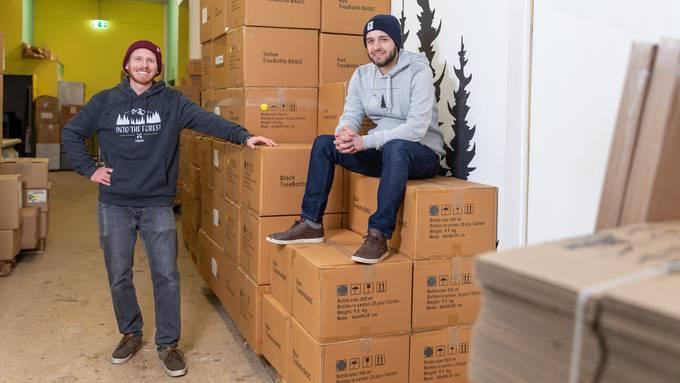 Die beiden Nikin-Gründer Robin Gnehm (links) und Nicholas Hänny.