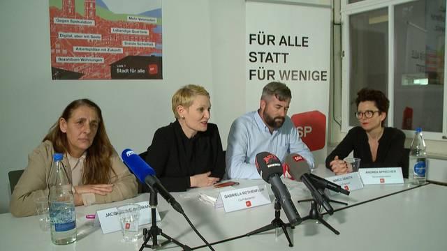 SP muss auf 4. Zürcher Stadtratssitz verzichten