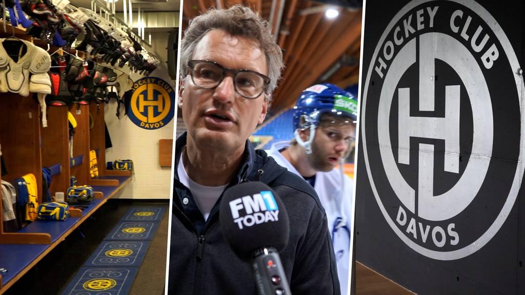 Hier ziehen sich die HCD-Cracks um – eine Führung durch das renovierte Eisstadion