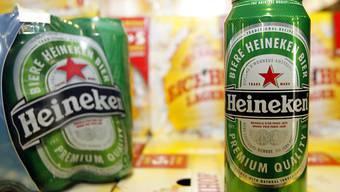 Heineken ist weiter auf Einkaufstour. Die niederländische Brauerei kauft den slowenischen Bierproduzenten Pivovarna Lasko. Bereits 2008 übernahm Heineken die traditionsreiche Luzerner Eichhof-Brauerei. (Archiv)