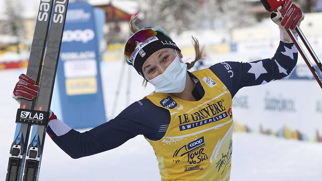 Jessie Diggins triumphiert als erste Nicht-Europäerin