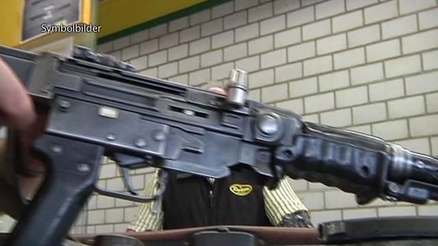 Maschinenpistole für Transportpolizei