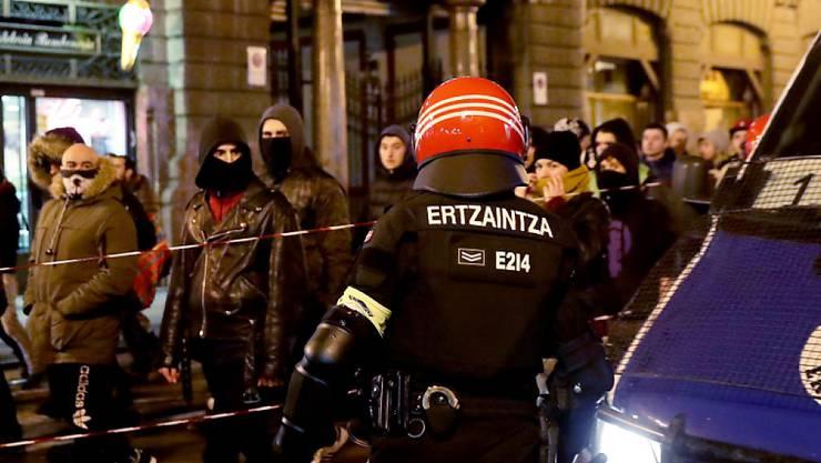 In Bilbao kam es zu Ausschreitungen