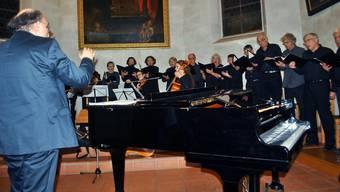 Der Kammerchor Akusma harmonierte bestens mit dem Ensemble Eskeniangeli.