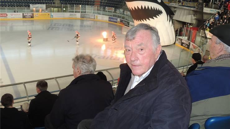Zuweilen bissiger als die Sharks auf dem Eis: René Nebel gehört zu den treusten und kritischsten Begleitern des EHC Basel. dws