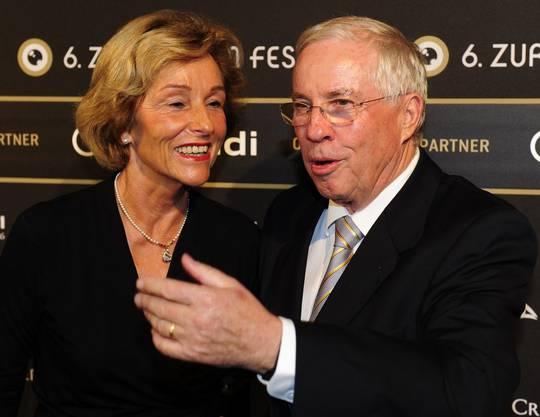 Silvia und Christoph Blocher