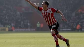 Leitete mit dem 1:0 die Niederlage von Leicester ein: Southamptons James Ward-Prowse