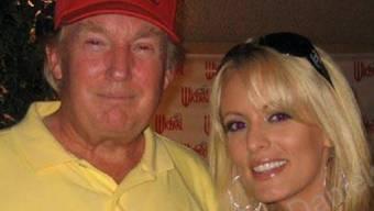 Stormy Daniels und Donald Trump bei einem Treffen 2006.