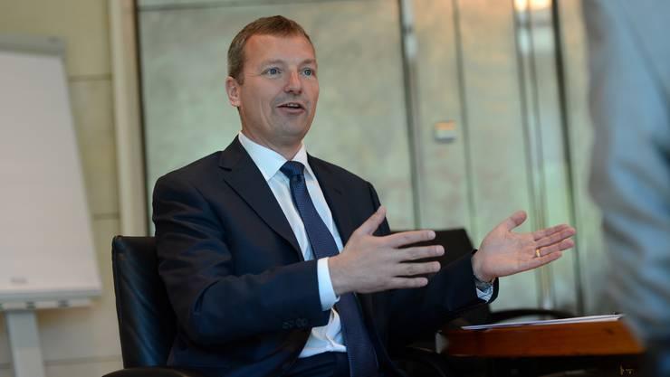 André Wyss, 2014 wurde er neuer Chef von Novartis Schweiz. Anfang April 2018 verlässt er Novartis.