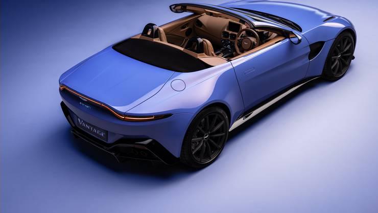 """Aston Martin bringt zum 70. Geburtstag der """"Vantage""""-Modellreihe eine offene Variante des Zweisitzers"""