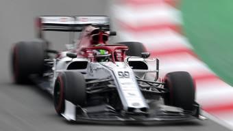 Antonio Giovinazzi dreht seinen Runden im C38