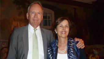 Der deutsche Botschafter in der Schweiz und Liechtenstein, Otto Lampe, wurde beim Solothurn- Besuch von seiner Gattin Giselle begleitet.
