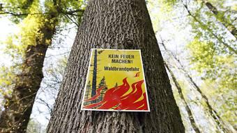 Im Kanton Solothurn herrscht grosse Waldbrandgefahr. (Archivbild)