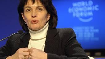 Doris Leuthard am WEF